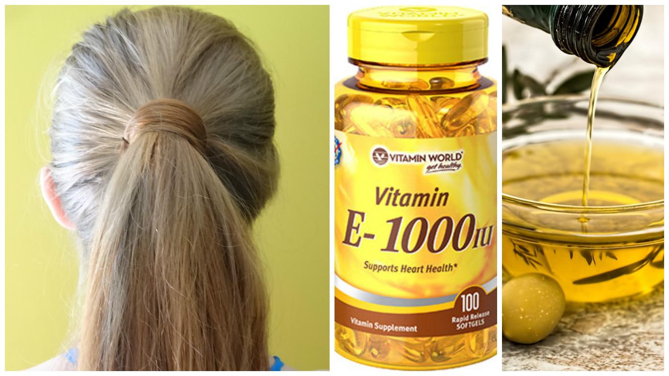 Витамин е раствор в масле для волос