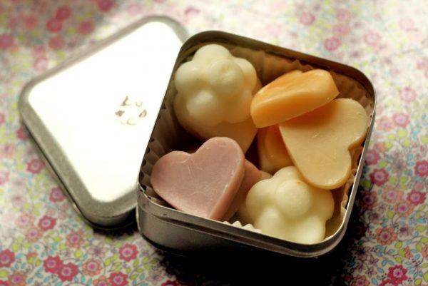 Масляные плитки в коробочке
