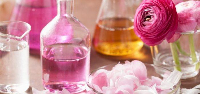 Эфирные масла розы