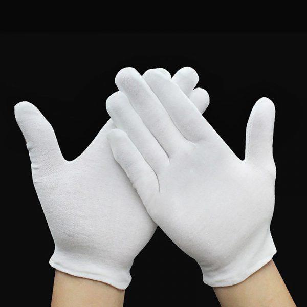 Хлопковые перчатки
