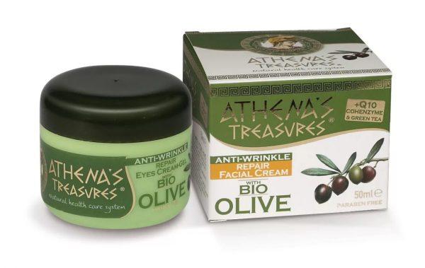крем на основе оливкового масла