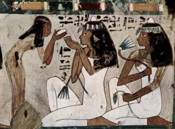Фреска: косметические процедуры в Египте