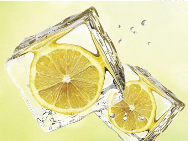 лимонный лёд