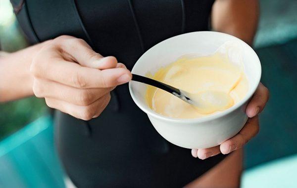 Маска для волос с бананом и кунжутным маслом