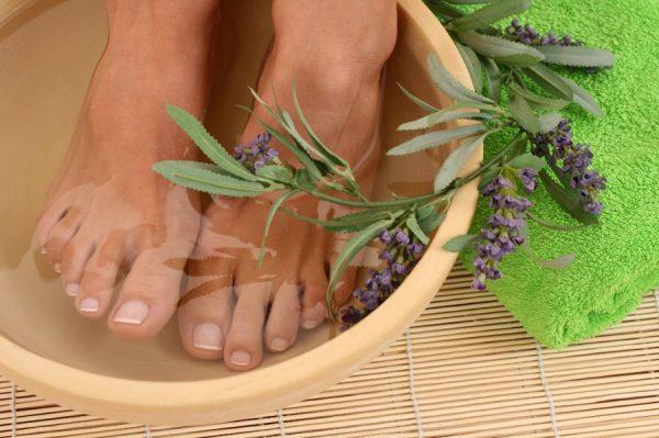 Ванночка для ног с лавандой