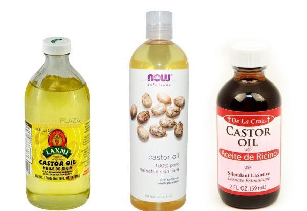 Касторовое масло в бутылочках