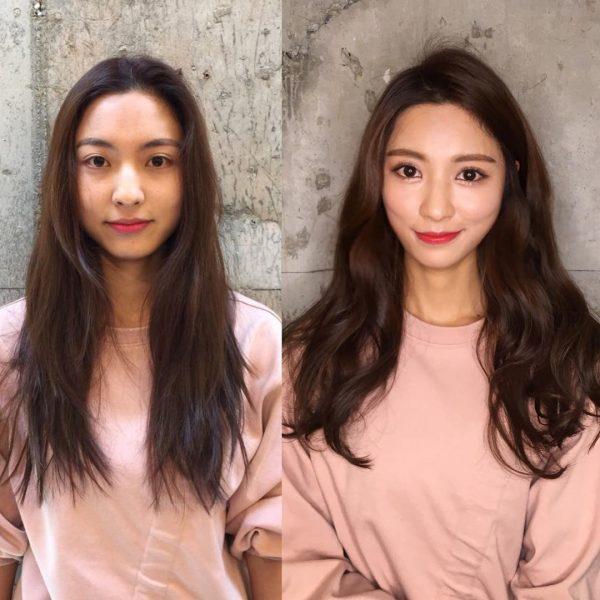 Результат применения масла амаранта: до и после