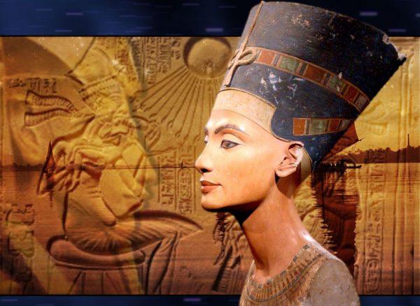 Статуя египетской царицы Нефертити
