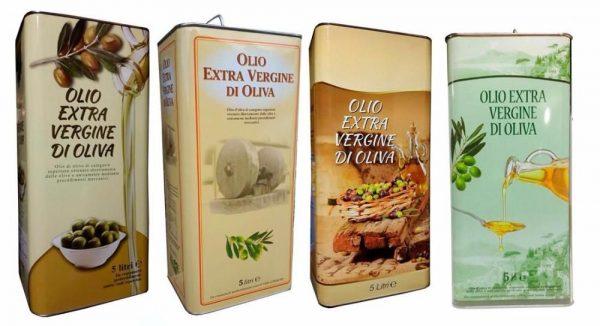 оливковое масло «Extra Vergine»