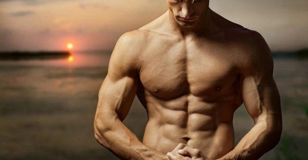 Мускулистый мужской торс