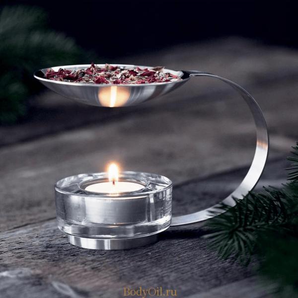 Свеча в аромалампе