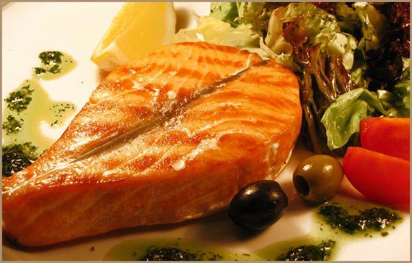 Стейк из морской рыбы