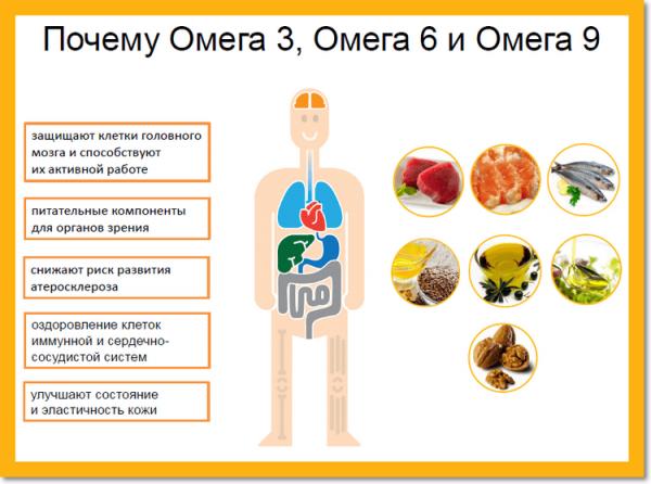 Полезные свойства жирных кислот